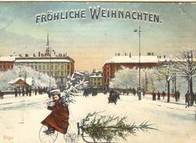Дореволюционная поздравительная открытка