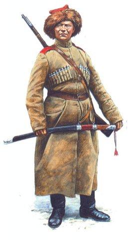 Киригиз личного конвоя атамана Оренбургского казачьего войска Дутова 1919 г.