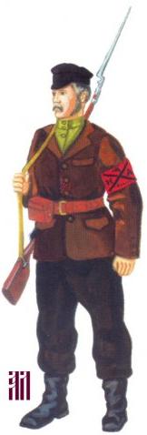 Униформа Ижевской и Воткинской Народных армий (август - ноябрь 1918)