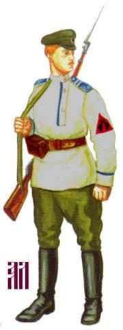 Униформа Ижевской и Воткинской Народных армий (август-ноябрь 1918)