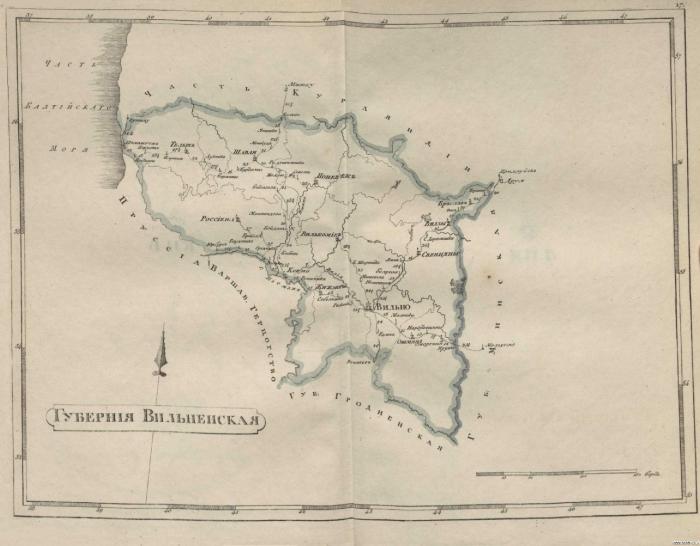 Вильненская губерния