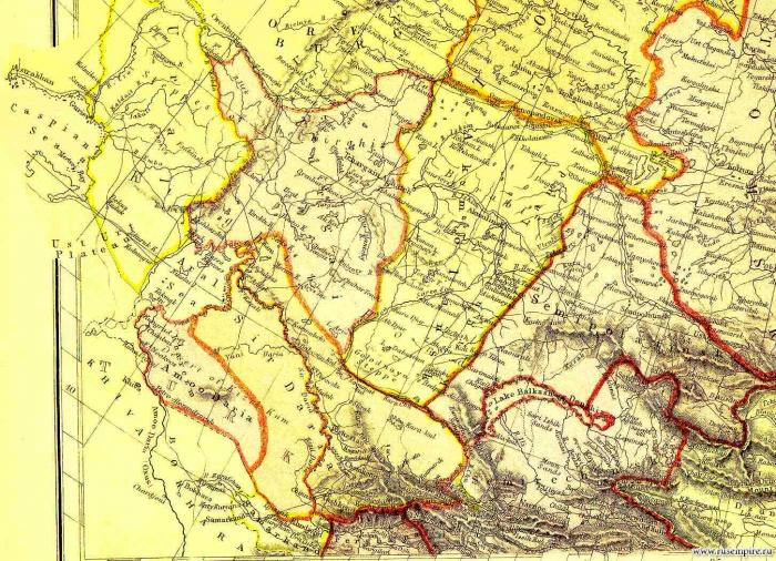 Сибирь и русская Азия, Уральская степь