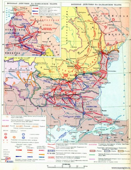 Русско-турецкая война 12(24) апреля 1877 г. - 19 февраля(3 марта) 1878 г