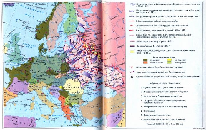 Европа после Второй мировой войны
