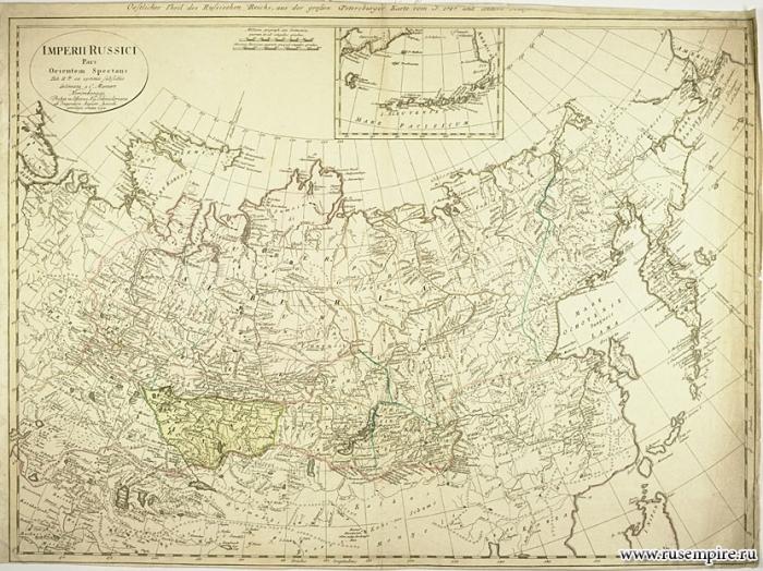 Карта Российской Империи (1794 год)