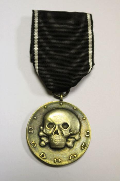 Медаль «Ветеранам Железной дивизии» (аверс)