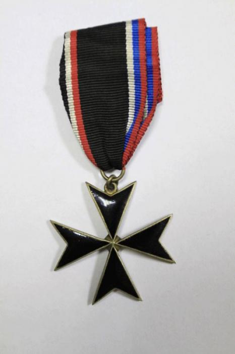 Крест Западной Добровольческой армии Бермонд-Авалова
