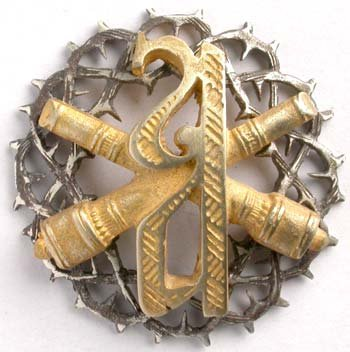 Знак Алексеевского артиллерийского дивизиона