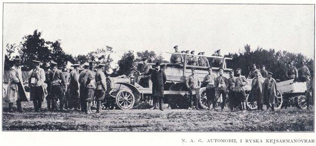 Автомобили Первой мировой войны