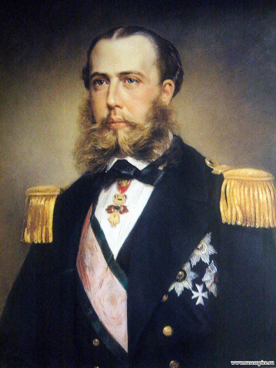 Адмирал тегетхоф на фрегате навара, так любимом максимилианом, вывозит тело императора в вену