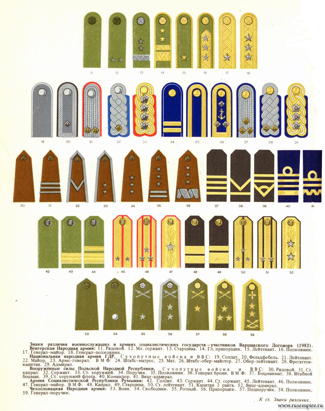 Форма одежды и знаки различия