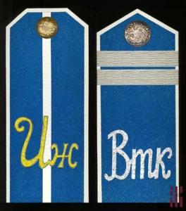 Погоны Ижевской Народной армии (август - ноябрь 1918)