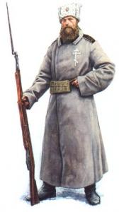Солдат дружины Святого Креста 1919-1920 г.