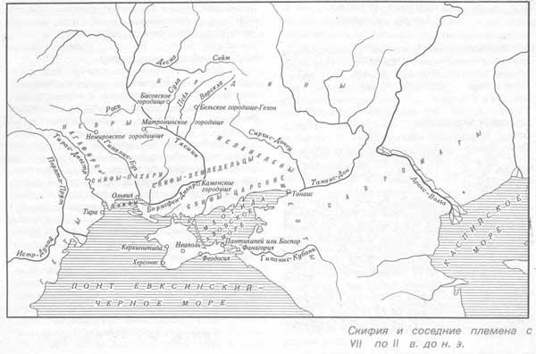 Снифия и соседние племена с VII по II в. до н. э.
