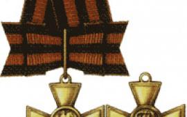 Знак отличия — Георгиевский Крест